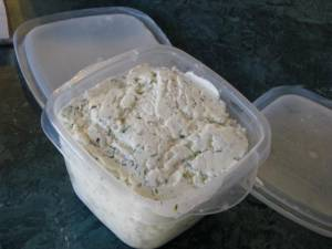 Chevre with Dill and Leon